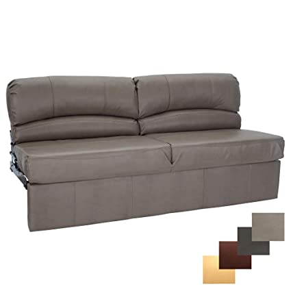 Incredible Recpro Charles Rv Jackknife Sofa Love Seat Sleeper Sofa Length Options 62 68 72 68 Inch Putty Creativecarmelina Interior Chair Design Creativecarmelinacom