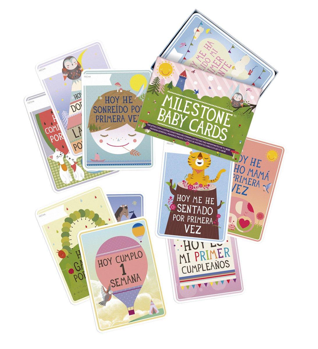MILLESTONE BABY CARDS Tarjetas Momentos Inolvidables (español) MILESTONE