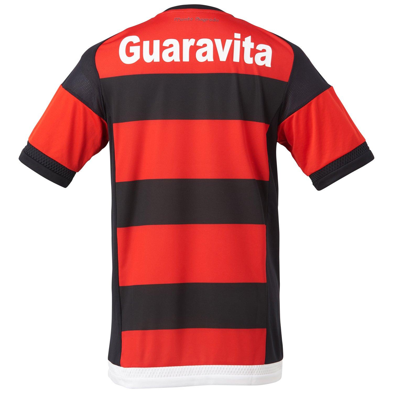 73e54ff88fa9a Guerrero 9 Flamengo Adidas Home 2015 Oficial Jersey Soccer Maglia Camiseta  Official (Medium)  Amazon.ca  Sports   Outdoors
