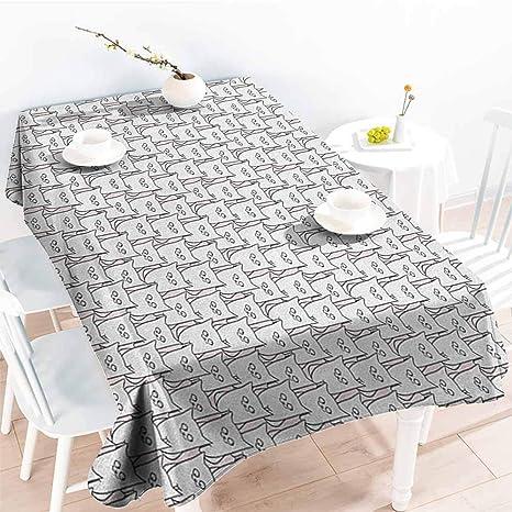 familytaste, Mantel Rectangular para Gatos, diseño de ...