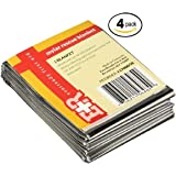 Mylar Men's Emergency Thermal Blankets (40 Thermal Blankets)