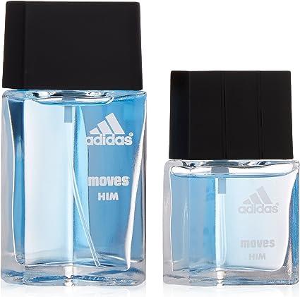 Adidas Moves By Adidas For Men. Gift Set (Eau De Toilette Spray 1.0 Oz + Eau De Toilette Spray 0.5 Oz) by adidas