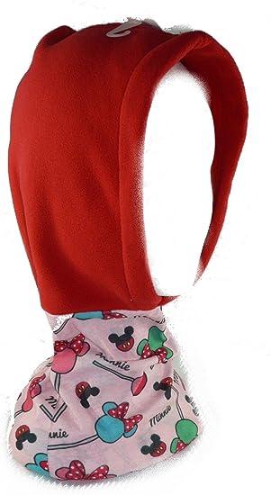 Minnie Mouse- Pañuelo braga cuello con gorro, única (New Import ...