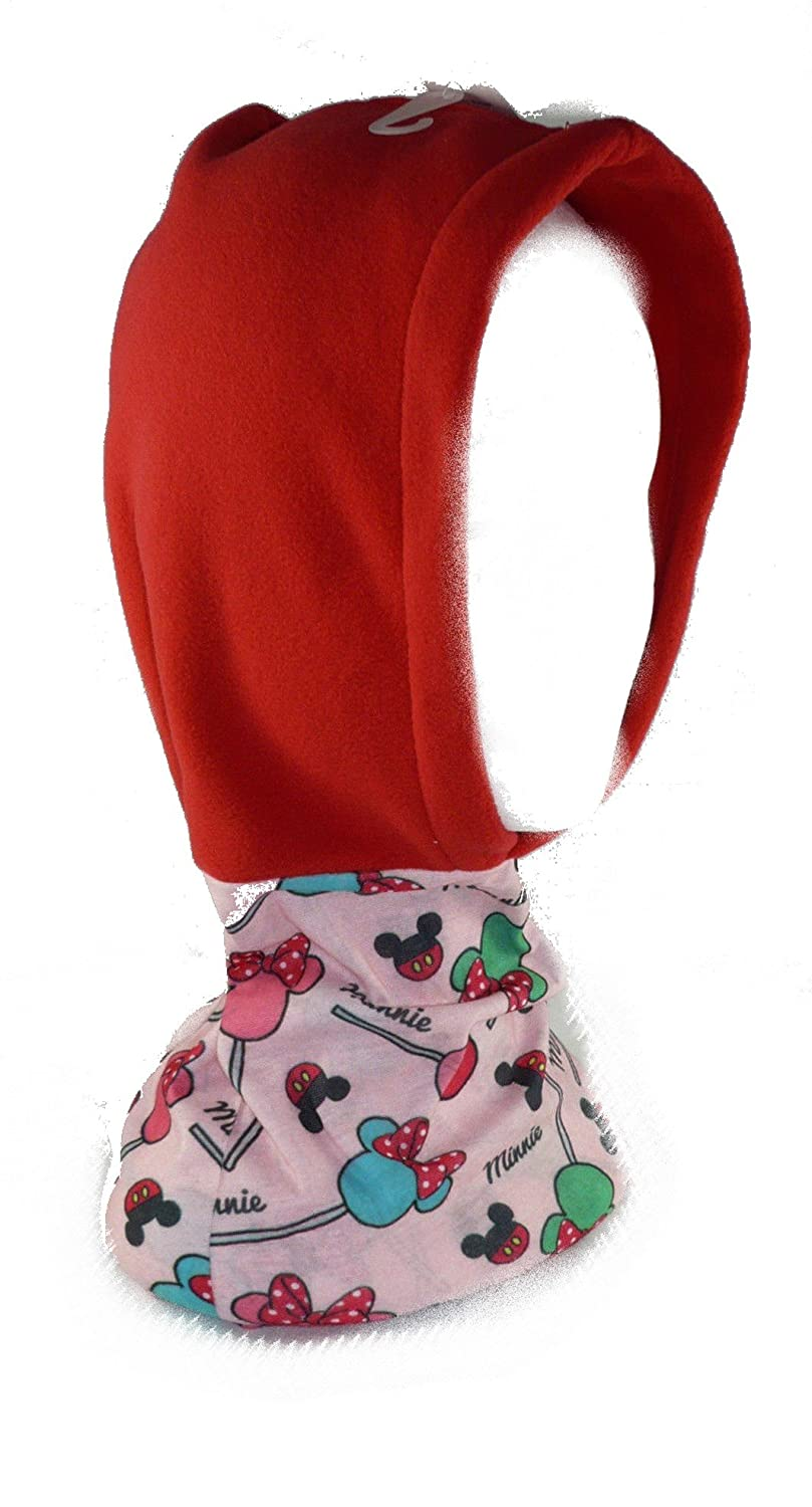 Minnie Mouse - Pañuelo braga cuello con gorro (New Import 770-955) 770-922