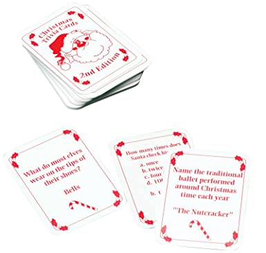 fun world miles kimball christmas trivia cards accessory multi standard - Fun Christmas Trivia
