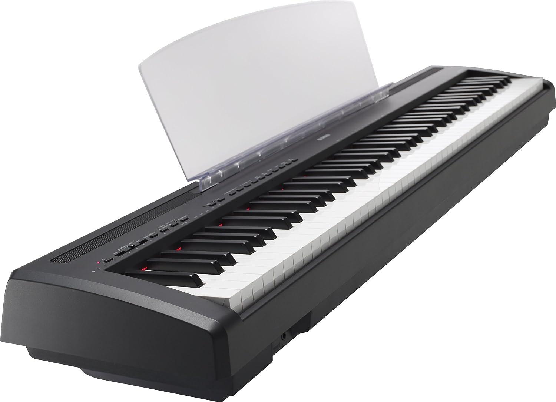 Yamaha P95 portátil Piano digital, negro: Amazon.es ...