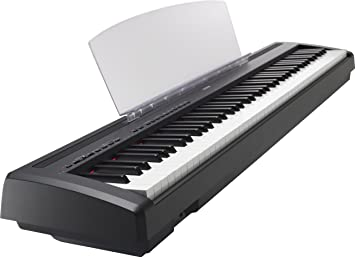 Yamaha P95 portátil Piano digital, negro