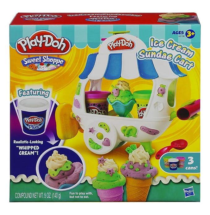 Play-Doh Sweet Shoppe Carro de Helado de Helado Playset: Amazon.es: Juguetes y juegos