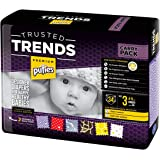 Pufies Trusted Trends Honey Comb - 34 Pañales, talla 3, 4-9 kg