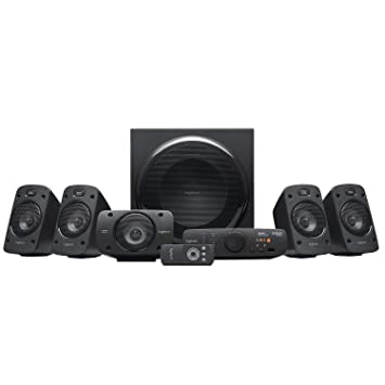 Logitech Z906 Stereo Speakers 3D 5 1 Dolby Surround Sound, THX, 1000 W,  Ideal For TV and Living Room