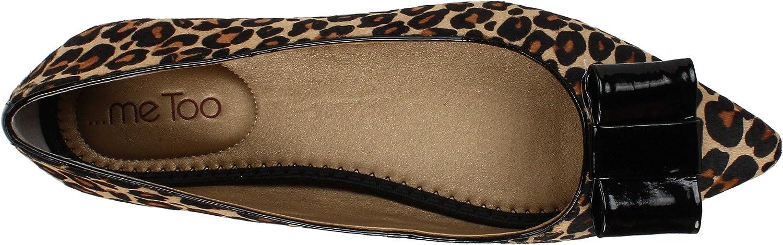 Me Too Women's Patty Flat, Leopard