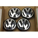 4 x Volkswagen Golf Passat Touran 3b7601171 tapabujes para llantas 65mm exteriores
