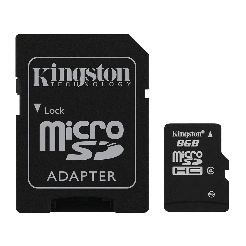 2/ALPHA MINI ONE TOUCH FIERCE STAR M POP T POP X POP POP POP 7/8//°C3/C5//°C7/C9/S7/S9 Kingston Technology Black 8/GB microSDHC Flash Memory Card with SD Adapter for Alcatel Idol S X X