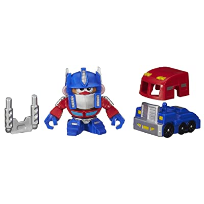 Playskool Mr. Potato Head Transformers Mixable Mashable Heroes as Optimus Prime, 2-Inch: Toys & Games