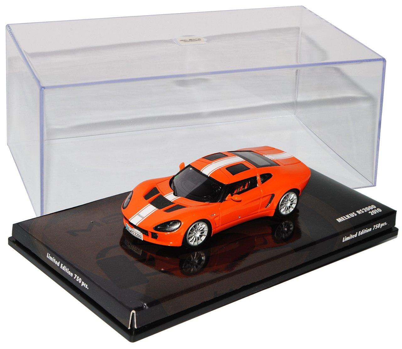 Minichamps Melkus RS2000 RS2000 RS2000 2010 Orange 1/43 Modell Auto mit individiuellem Wunschkennzeichen 25d45e