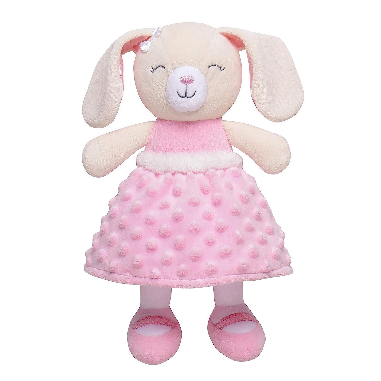 Ragdoll Bunny Plush -Crochet Bunny Easter Bunny Plush Kids Easter Toy Baby Rattle Bunny Toy Baby Shower Gift Bunny Plush