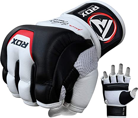 RDX Boxing  MMA Gloves Grappling Fight PunchIng Bag Muay Thai Martial Art CA