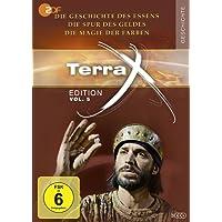 Terra X - Edition Vol. 5 Die Geschichte des Essens - Die Spur des Geldes - Die Magie der Farben [3 Discs]