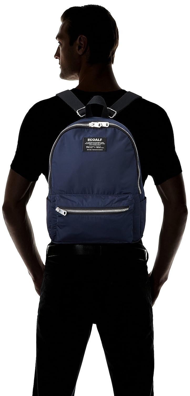 ECOALF Oslo Backpack, Mochila Unisex Adulto, Azul (Deep Navy) 12x38x18.00 cm (W x H x L): Amazon.es: Zapatos y complementos