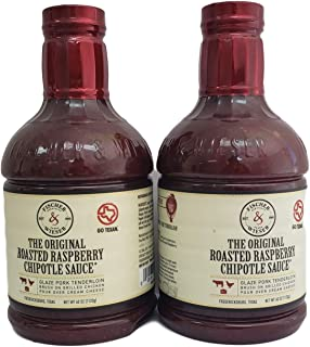 product image for Fischer & Wieser Razzpotle Roasted Raspberry Chipotle Sauce, TWO 40-Ounce Bottles