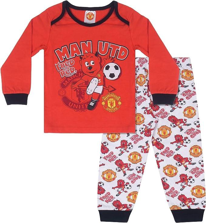 Football Gifts for Boys Boys Pyjamas Official Boys Pjs Manchester United F.C