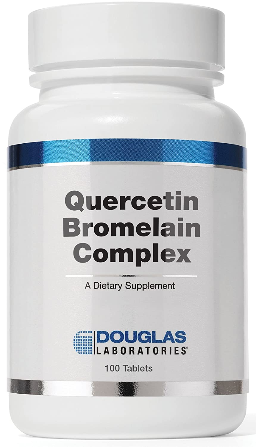 Douglas Laboratories – Quercetin Bromelain Complex – Formulation to Support Vascular and Immune Cell Function* – 100 Tablets