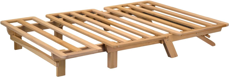 World of Futons Cama futón Tumbona Plegable – sólo Estructura de: Amazon.es: Juguetes y juegos