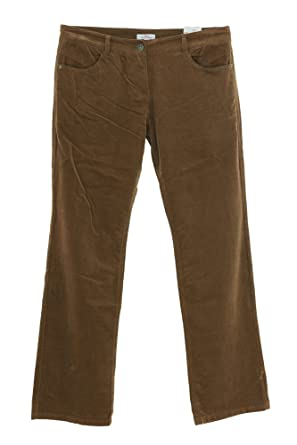neueste Art von Einkaufen heiß-verkauf echt s.Oliver Cordhose Smart Damen Stretch, Farbe:braun ...