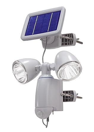 SunnyTrend SLA14 - Farol solar con sensor de movimiento (2 puntos de luz)