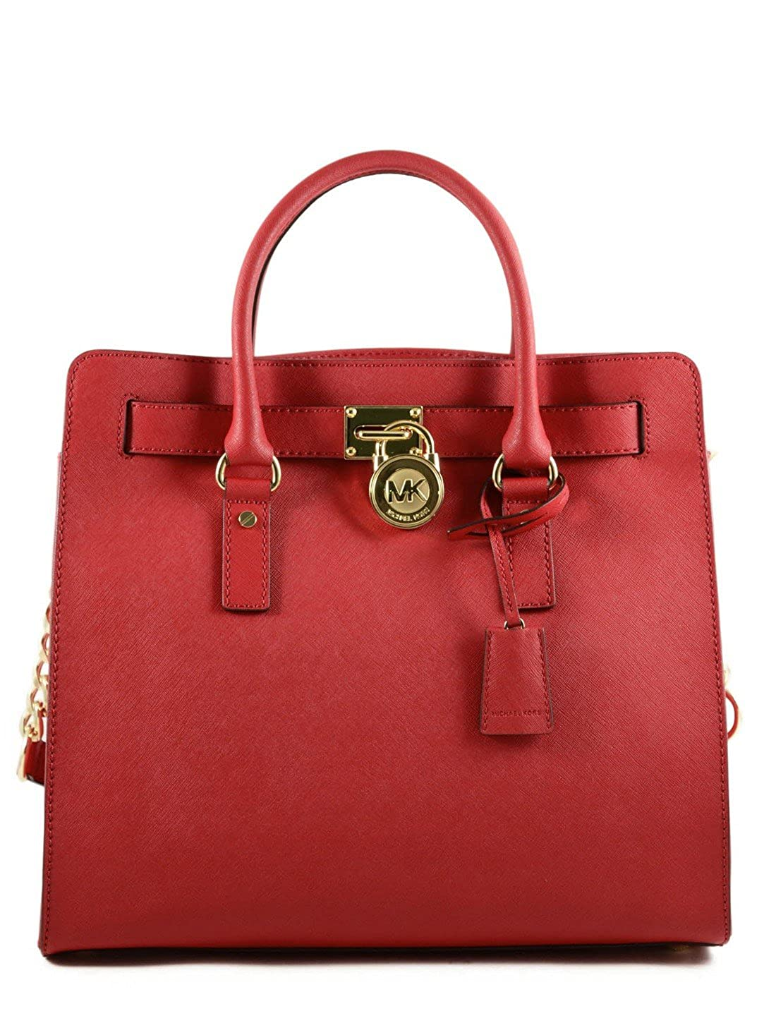 0cf41f276076 Amazon.com: Michael Kors Specchio Hamilton Satchel Red: Shoes