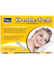 Nasal Strips 10 Piece in 1 Box, Large Size (66 * 19 mm) Breathe Fresh Nasal Strips by Pufai.
