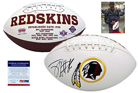 Image Unavailable. Image not available for. Color  Jordan Reed Signed  Football - Washington Redskins Autographed - PSA DNA db22e6659