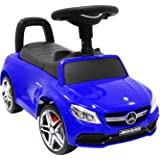 足けり乗用玩具 BENZ C63 AMG メルセデスベンツ ライセンス 足けり おもちゃ 車の乗物 子供用乗り物 [BENZ C63 COUPE No638] (ブルー)
