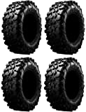 Full set of Maxxis Carnivore Radial (8ply) ATV Tires 30x10-14 (4)