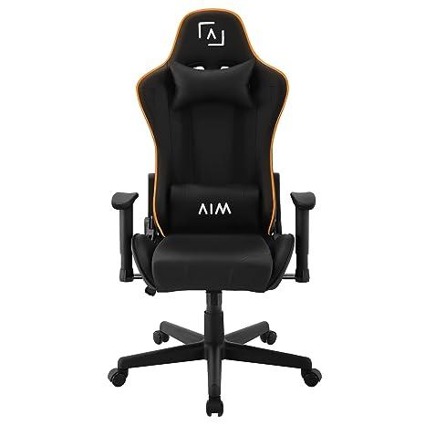 AIM silla gaming profesional, iluminación DNA RGB, reclinable 180º: Amazon.es: Hogar