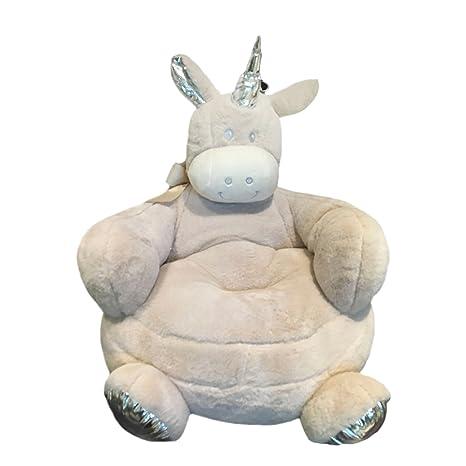 Mystery\u0026Melody Peluche Unicorno Divano Sedie Morbidi Animali Poltrone Vivai  Camere da Letto Decoation per Natale Regalo