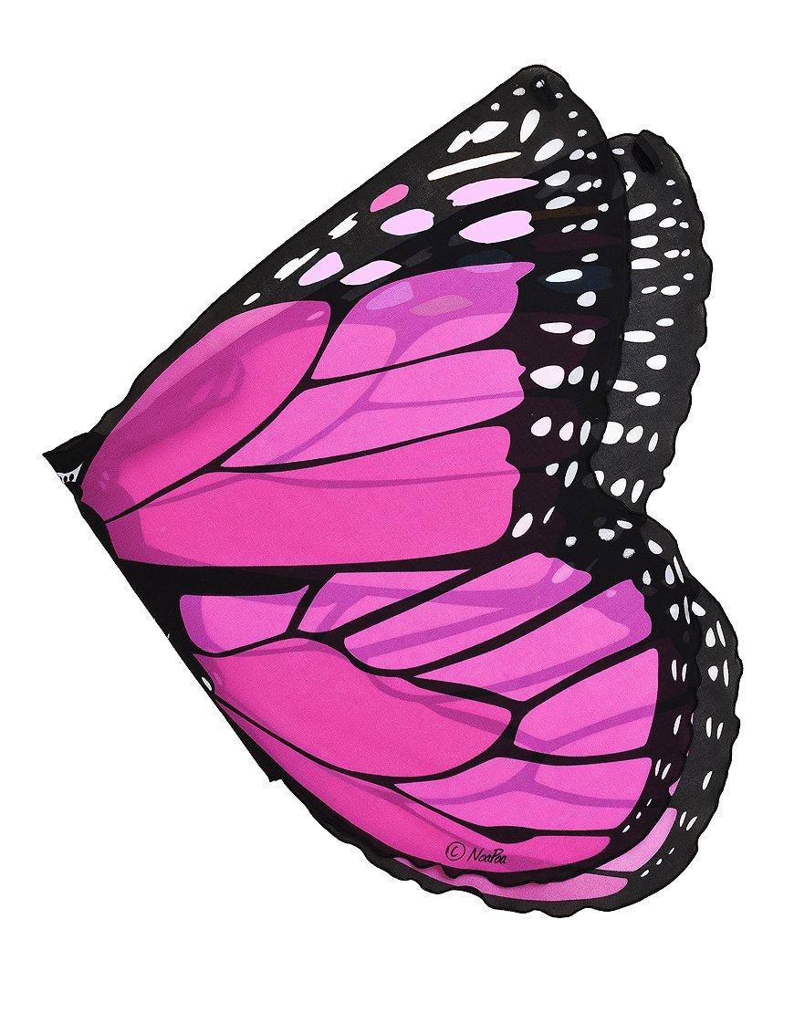 douglas dreamy dress ups fanciful fabric wings pink monarch