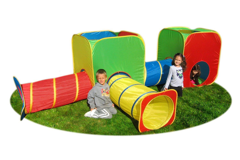 amazon com mega cubes and tubes tunnel toys u0026 games