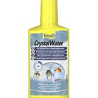Tetra CrystalWater (für kristallklares Aquarienwasser, Wasserklärer gegen Trübungen, bindet Schwebepartikel), verschiedene Größen
