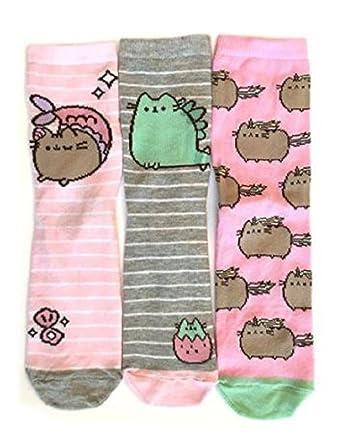 PRIMARK PUSHEEN - Calcetines - para mujer multicolor multicolor Talla única: Amazon.es: Ropa y accesorios