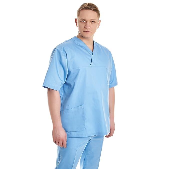 Pijama sanitario hombre medico (XS, Azul)