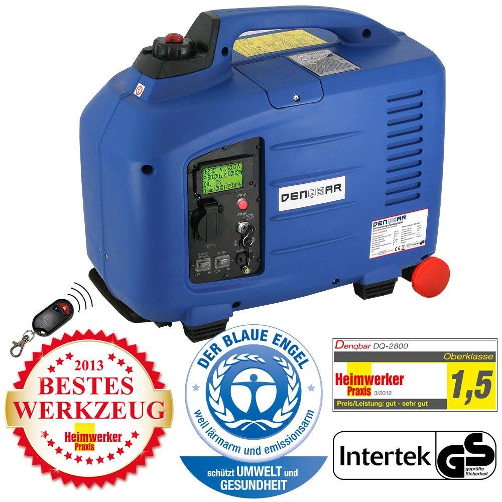 DENQBAR 2,8 kW Inverter Stromerzeuger Notstromaggregat ...
