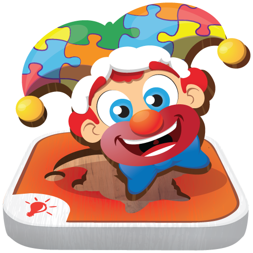 Toddler Kids Puzzles PUZZINGO - Learning Puzzle Games (Clown Shape)
