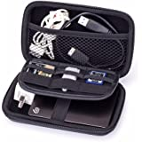 GHKJOK Electronics Pouch Cable Tidy Organiser Accessories Hard Drive Storage Bag for Power Bank, Hard Drive, Smart Phone, Charger, U Disk