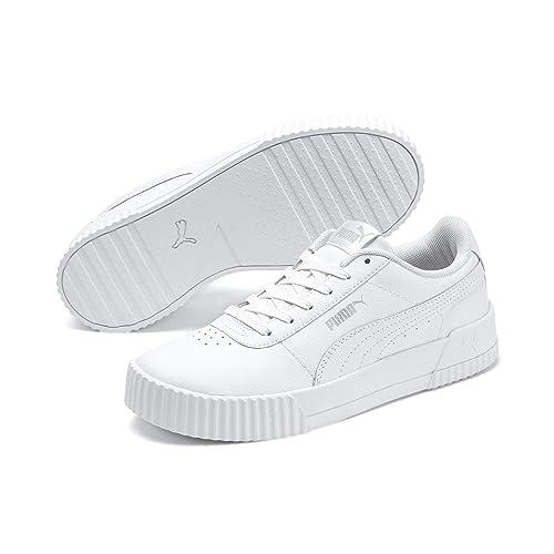 puma baskets basses femme blanche
