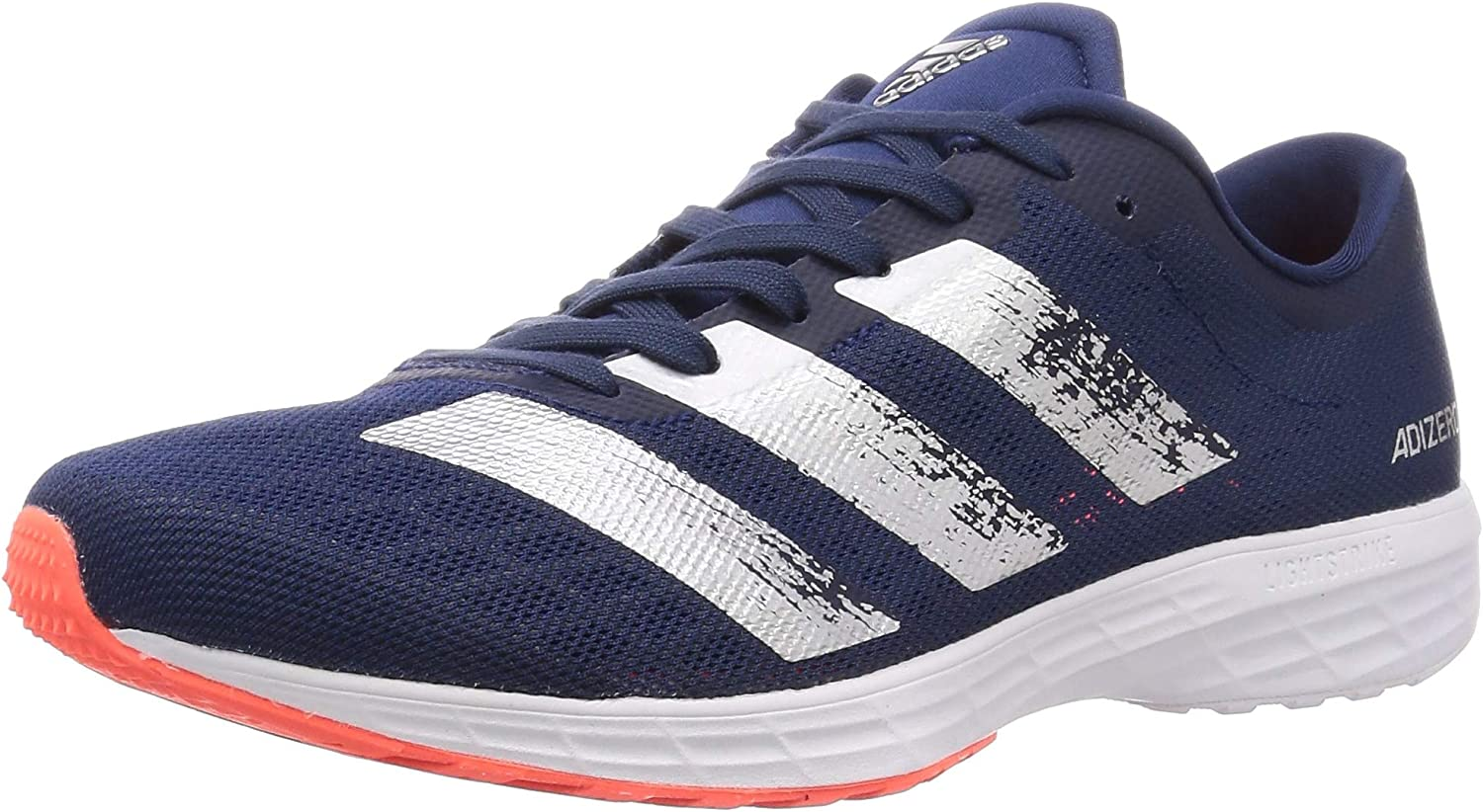 adidas Mens adizero RC 2 Running Shoes Trainers Sneakers Blue Sports