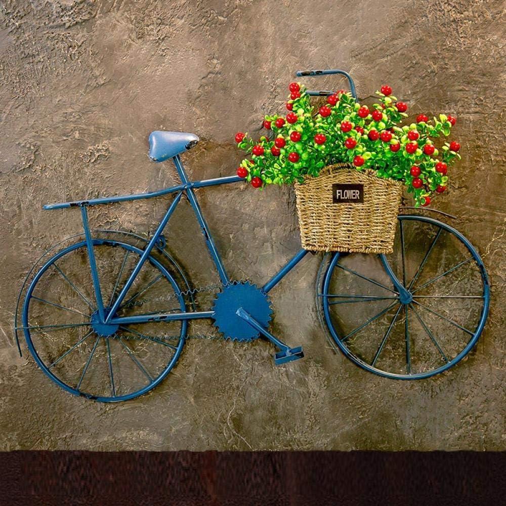 Qsfdhifdr Reloj Creativo Pared Bicicleta Adorno decoración de ...