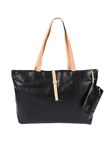 e86d157293195 Image Unavailable. Image not available for. Color: Lunir Fashion Women's  Multi-pocket Cotton Canvas Handbags Shoulder Bags Totes Purses
