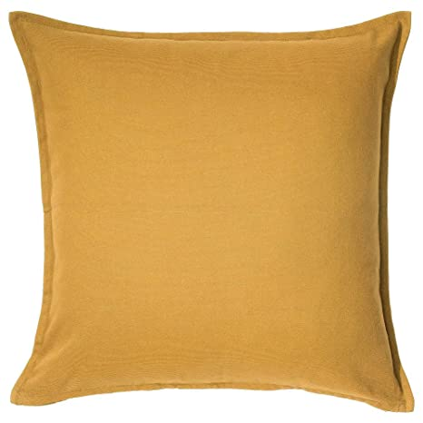 Amazon.com: IKEA Gurli Cushion Cover Golden Yellow 203.958 ...