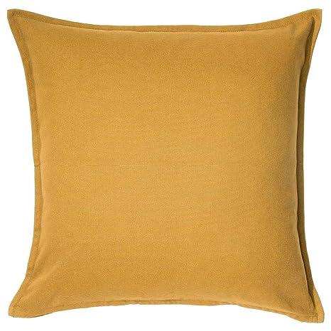 Amazon.com: IKEA Gurli – Funda de cojín amarillo dorado ...